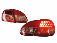 DHL Ship -for Toyota Corolla Altis 2003-2007 LED Tail Lights Rear Lamp-Red/Clear