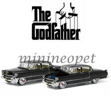 GREENLIGHT 44740 B THE GODFATHER 1955 CADILLAC FLEETWOOD SERIES 60 1/64 BLACK