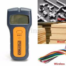 3 in 1 Intelligent Stud Scanner AC Live Wire Finder Wood Wall Metal Detector UK