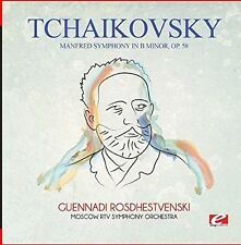 Manfred Symphony In B Minor Op. 58 - Tchaikovsky (2015, CD NEUF)