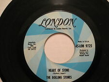 THE ROLLING STONES - HEART OF STONE/What A SHAME  - 45  USA - 60S Rock rare L@@K