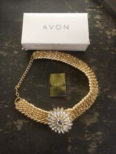Avon Brianna Necklace New Boxed Chunky Vintage Style Beautiful Costume Jewelery