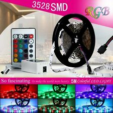 5M RGB Nicht Wasserdicht 300 LED Strip Light 3528 SMD String Ribbon Tape Roll