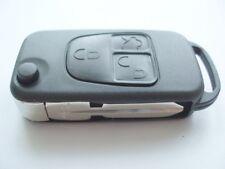Reemplazo 3 Botón Voltear Llave Carcasa Para Mercedes Clase V Ml Remoto Fob