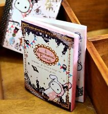 FD2560 Sentimental Circus Notepad Diary Exercise Notebook 6 Folded 120 Pages