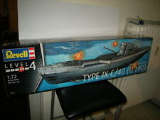 1:72 Revell German Submarine Type IX C/40 U190 Nr. 05133 OVP