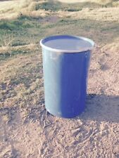 Food storage 205 litre or 44 drum open top with lid & band.