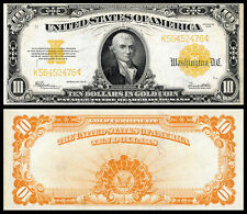 NICE  CRISP UNC.1922 $10 GOLD CERTIFICATE COPY PLEASE READ DESCRIPTION!