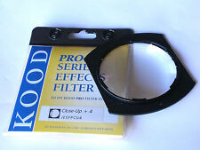 KOOD P SERIES CLOSE-UP +4 DIOPTRE LENS FILTER FITS COKIN P SYSTEM