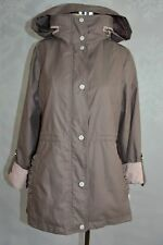 Jessica Simpson Taupe/Rose colored hooded anorak  size M NWT