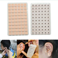 600Pcs Disposable Ear Press Seeds Acupuncture Vaccaria Plaster Bean Massage H