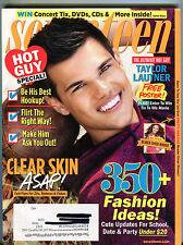 Seventeen Magazine October 2011 Taylor Lautner EX 070616jhe