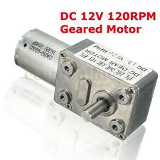 MOTORIDUTTORE DC12V 120RPM/MIN 370 ELETTRICO MOTORE VELOCITÀ CONTROLLO 0.5KG.CM