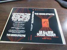 THE HIDDEN SPECTRE - AN ALL-NEW OCCULT READER BY ROBERT TRALANS  PAPERBACK PROOF