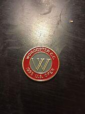 1925 US Open Golf Ball Marker - Worcester CC - Willie Macfarlane Winner