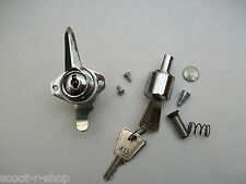LI SERIES 3 CHROME TOOL BOX & STEERING LOCK COMMON KEY