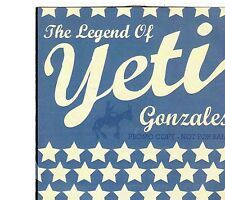 (EI209) Yeti, The Legend Of Yeti Gonzales - 2008 DJ CD