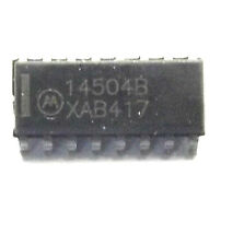 MC14504BD  marked 14504B Voltage Level Shifter CMOS/TTL to CMOS 16-Pin SMD TYPE