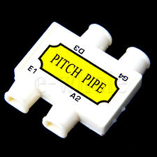 1x Ukulele Pitchpipe Pitch Pipe E A G D tuning For Violin HW