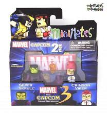 Marvel vs Capcom 3 Minimates Wave 2 Super Skrull vs Crimson Viper