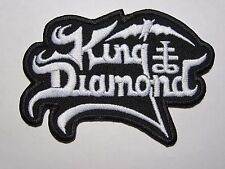 KING DIAMOND logo embroidered NEW patch heavy metal