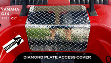 Yamaha G14 to G22 Golf Cart Diamond Plate ACCESS PANEL COVER     Free Shipping