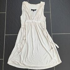 FRENCH CONNECTION LADIES CREAM DRESS SIZE 8