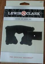 Lewis N Clark 450  Inflatable Neckrest - Black - WITH POUCH - BRAND NEW IN BOX