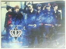 TEEN TOP autographed It's PROMO CD signed 2nd Mini Album Crazy