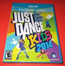 Just Dance Kids 2014 Nintendo Wii U *Factory Sealed! * Free Shipping!
