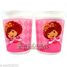 STRAWBERRY SHORTCAKE PRINCESS KEEPSAKE CUPS (2) ~ Birthday Party Supplies Favors