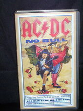 AC/DC NO BULL - VHS VIDEO