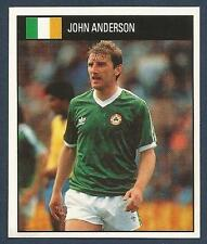 ORBIS 1990 WORLD CUP COLLECTION-#181-EIRE & NEWCASTLE UNITED-JOHN ANDERSON