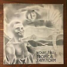 TROPICAL RAINSTORM Yours Truly LP Private Calypso Steel Band FUNK EX Topaz