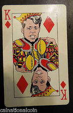 Humor House Inc. Kennedy Kards King of Diamonds Playing Card 1963