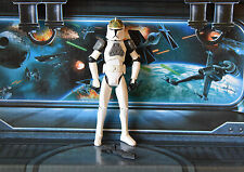 Star wars figurine animated clone wars clone tank gunner **