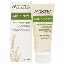2x Aveeno Moisturising Cream For Dry & Sensitive Skin 100ml (Eczema)