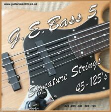 5 String ELECTRIC BASS GUITAR STRINGS 45-125s Regular Light Guage .045 to .125