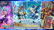 Future Card Buddyfight Shine! Super Sun Dragon!! Booster Box English