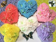 Wedding Favor,Valentine's Favor,Victorian Heart w/ Roses Soap,Women Gift