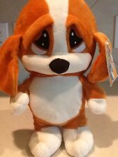 SAD SAM STUFFED PLUSH PUPPY DOG VERY CUTE NEW WITH TAG Boy Girl Kellytoy