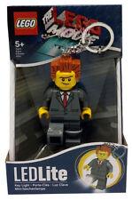 El presidente Mini Figuras De Lego la película negocio LED Luz Antorcha Llavero Clave Lite