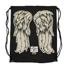 The Walking Dead Daryl Dixon Wings Cinch Draw String Bag Official Merchandise