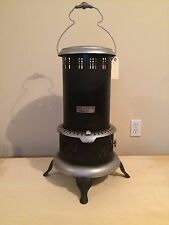 Antique Vintage BOSS No. 8 Black Perfection Kerosene Oil Heater Stove