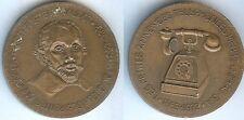 Médaille de table - RENAUDOT les petites annonces téléphonées Pierre LICHAU 1973