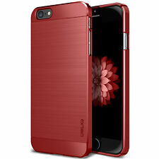 iPhone 6 6S PLUS Ultra Thin RED Metallic Hard Case Obliq SLIM META Made in Korea