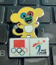 2013 NANJING ASIAN YOUTH GAMES MASCOT CHINA OLYMPIC NOC PIN RARE