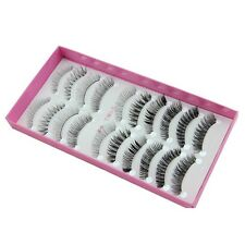 NEW 2016 Popular 10 pairs different style False eyelashes set daily eye lashes