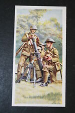British Army  3 Inch Mortar team   1930's Vintage Picture Card # VGC