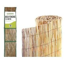 Garden Reed Screening Fencing Roll 4m x 1m Fence Panel Natural wooden New